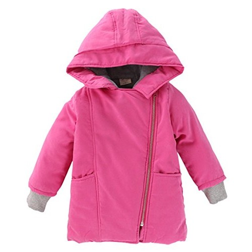 Aivtalk Big Girls Adorable Soft Cotton Fall Simple design Solid Coat Tracksuit Sport Home wear Rib Cuff Pink