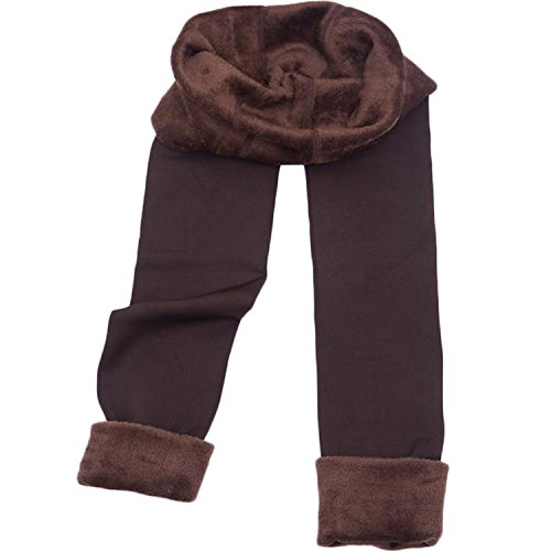 New Fashion Women's Autumn And Winter High Elasticity And Good Quality Warm Leggings Thick Velvet Pants