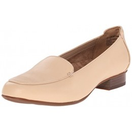 Clarks Women's Keesha Luca Everyday Casual Shoe, Nude Leather, 6.5 W US
