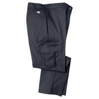 Dickies Premium Industrial Cargo Pant 2112372DC 36x32 Polyester/Cotton Relaxed Fit , Dark Charcoal