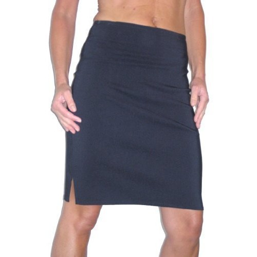 ICE (2210) Stretch Pencil Skirt School Office Navy Blue Sizes (14)