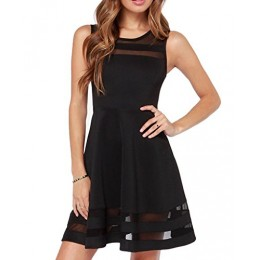 I'MQueen Girl's Short Black Dress Plus Size Party Mini Skirts Prom Dress Party