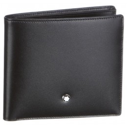Montblanc Meisterstuck 8 CC Black Leather Wallet 7163