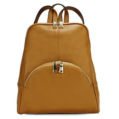 Scarleton Chic Casual Backpack H160804 - Brown