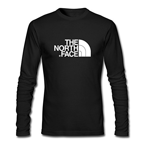The North Face for 2016 Mens Printed Long Sleeve Tops t Shirts
