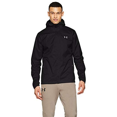 Under Armour Outerwear Men's Bora 2l Lined Shell Hoodie, Black/Graphite, X-Large