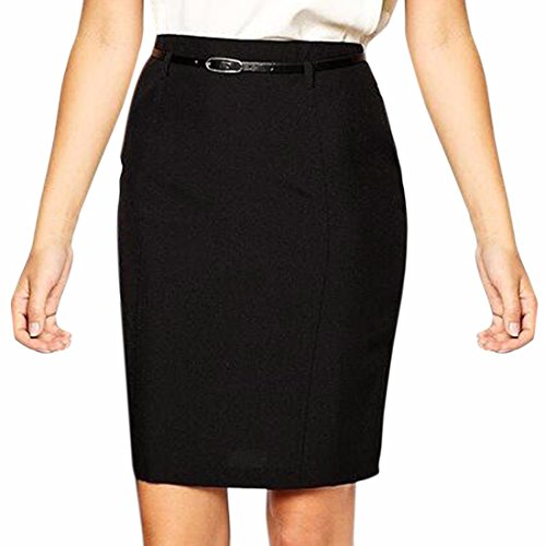 New Women Ladies A Skirt Bodycon Formal Work Office Ol Midi Skirt